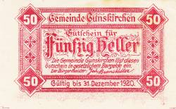 Image #1 of 50 Heller 1920 - Gunskirchen