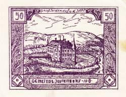 Image #1 of 50 Heller 1920 - Jeutendorf