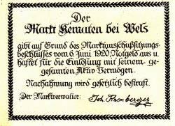 Image #2 of 50 Heller 1920 - Kematen bei Wels