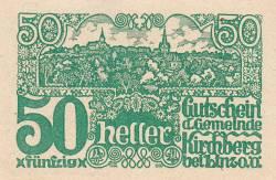 Imaginea #1 a 50 Heller 1920 - Kirchberg bei Linz