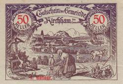 Image #1 of 50 Heller 1920 - Kirchham (district of Gmunden)