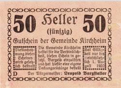 Image #1 of 50 Heller 1920 - Kirchheim