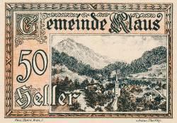 Imaginea #1 a 50 Heller 1920 - Klaus