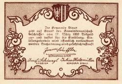 Imaginea #2 a 50 Heller 1920 - Klaus