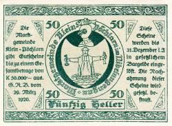 Imaginea #1 a 50 Heller 1920 - Klein-Pöchlarn