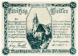 Imaginea #2 a 50 Heller 1920 - Klein-Pöchlarn