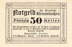 Image #2 of 50 Heller 1920 - Kleinmünchen