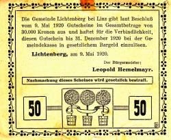 Image #2 of 50 Heller 1920 - Lichtenberg