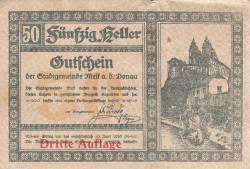 Image #1 of 50 Heller 1920 - Melk (Dritte Auflage - Emisiunea a III-a)