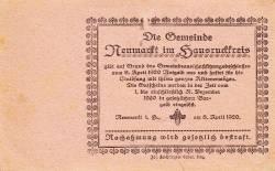 Image #2 of 50 Heller 1920 - Neumarkt im Hausruckkreis