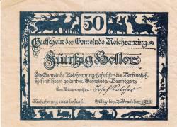 Image #1 of 50 Heller 1920 - Reichraming