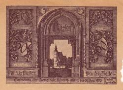 50 Heller 1920 - Rüstorf