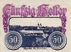 Imaginea #1 a 50 Heller 1920 - Sankt Florian