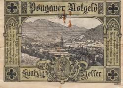Imaginea #2 a 50 Heller 1920 - Sankt Johann im Pongau