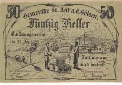 Image #1 of 50 Heller 1920 - Sankt Veit an der Gölsen