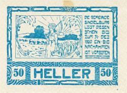 Image #1 of 50 Heller 1920 - Sindelburg