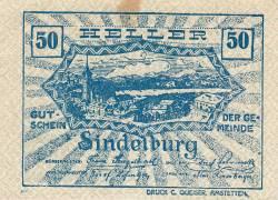 Image #2 of 50 Heller 1920 - Sindelburg