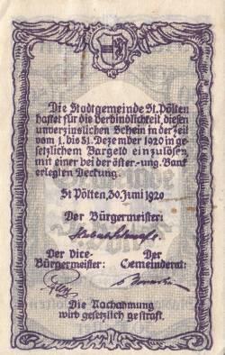 Image #2 of 50 Heller 1920 - Sankt Pölten