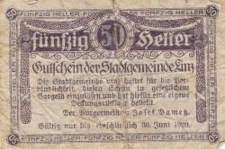 Image #1 of 50 Heller 1920 - Linz