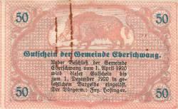 Imaginea #2 a 50 Heller 1920 - Eberschwang