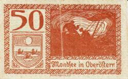 50 Heller ND - Mondsee