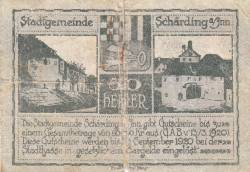 Imaginea #2 a 20 Heller 1920 - Schärding