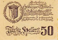 Image #2 of 50 Heller 1921 - Sankt Georgen and Tollet