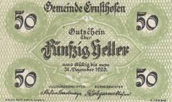 Imaginea #1 a 50 Heller 1920 - Ernsthofen