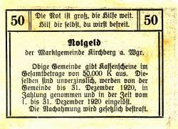 Imaginea #2 a 50 Heller ND - Kirchberg am Wagram