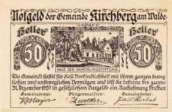 Image #1 of 50 Heller 1920 - Kirchberg am Walde