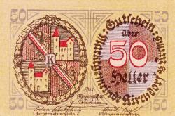 Imaginea #1 a 50 Heller ND - Kirchdorf an der Krems