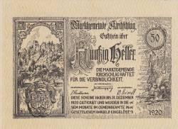 Imaginea #1 a 50 Heller 1920 - Kirchschlag