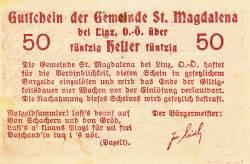 50 Heller ND - Sankt Magdalena