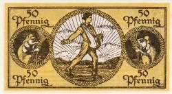Image #2 of 50 Pfennig 1918 - Erbach im Odenwald
