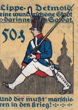 Imaginea #1 a 50 Pfennig 1920 - Detmold