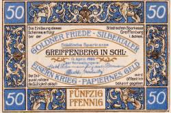 Image #1 of 50 Pfennig 1920 - Greiffenberg in Schlesien