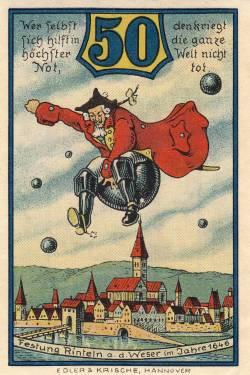 Image #1 of 50 Pfennig 1920 - Rinteln