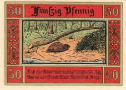 Image #1 of 50 Pfennig 1921 - Aken (Elbe)
