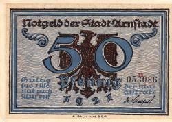 Image #1 of 50 Pfennig 1921 - Arnstadt