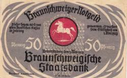 Image #1 of 50 Pfennig 1921 - Braunschweig