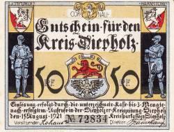 Image #1 of 50 Pfennig 1921 - Diepholz