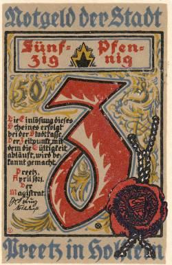 Image #2 of 50 Pfennig - Dreetz