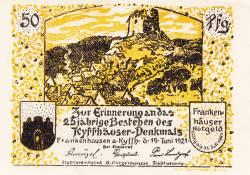 Image #1 of 50 Pfennig 1921 - Frankenhausen