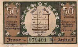 50 Pfennig - Frose