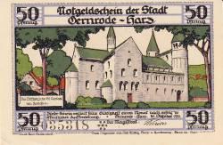 Image #1 of 50 Pfennig 1921 - Gernrode/Harz