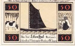 50 Pfennig 1921 - Lilienthal