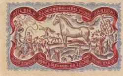 Image #2 of 50 Pfennig 1921 - Oldenburg