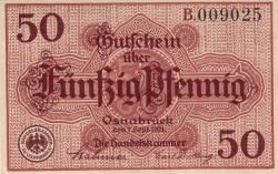 Image #1 of 50 Pfennig 1921 - Osnabrück