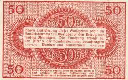 Image #2 of 50 Pfennig 1921 - Osnabrück