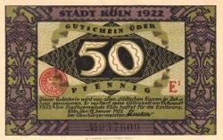 Image #1 of 50 Pfennig 1922 - Köln